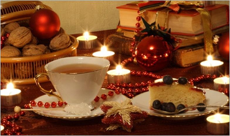 праздничный стол новый год
