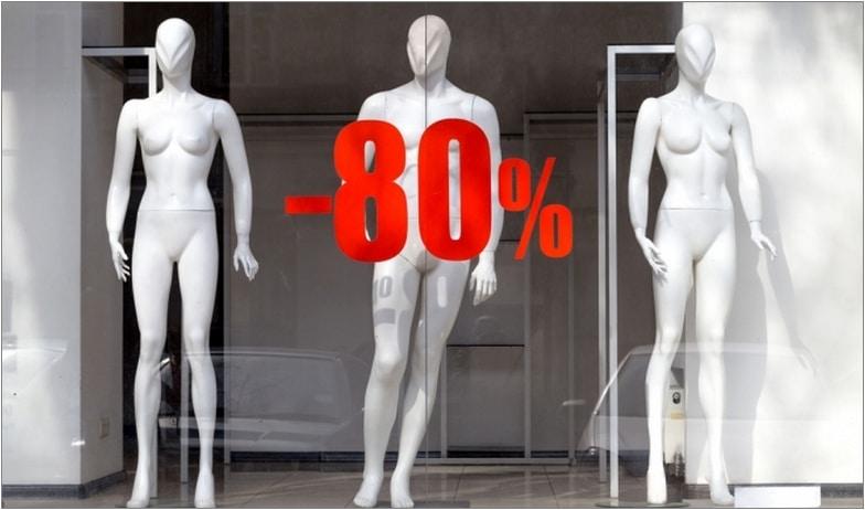 скидки распродажа кризис