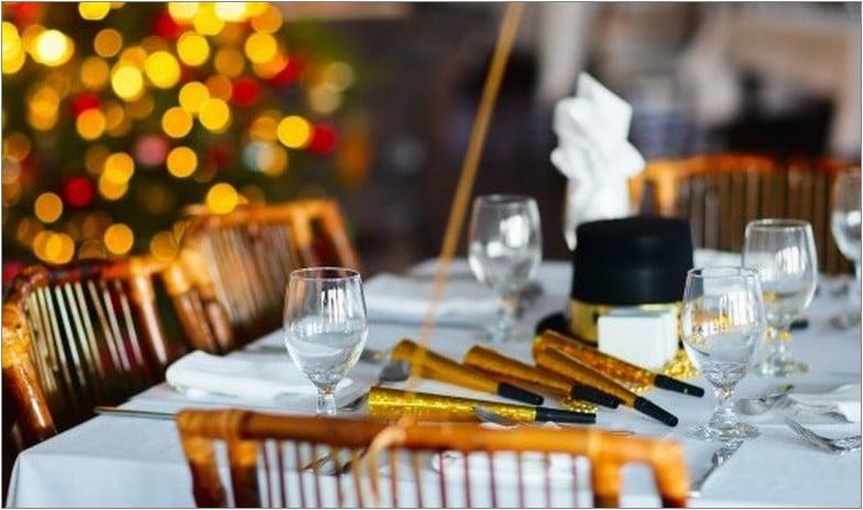 праздничный стол новый год праздник