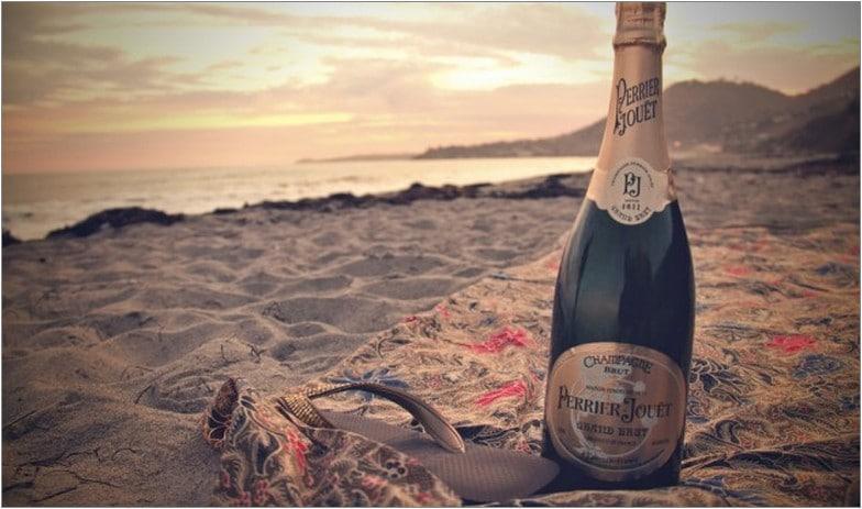 алкоголь пляж закат свидание вечер релакс