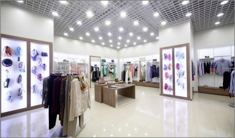 освещение свет магазин лампы отдел одежда
