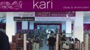 Скоро состоится открытие магазина обуви и аксессуаров KARI на 3 этаже