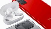 Беспроводные наушники при покупке смартфона в М.видео