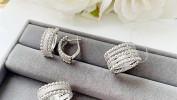 Украшения из серебра от салона Золото Русских